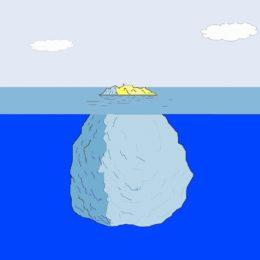 Vědomá část je ta špička ledovce, podvědomí je celá ta mohutná část, která tvoří pevné základy vaší reality.